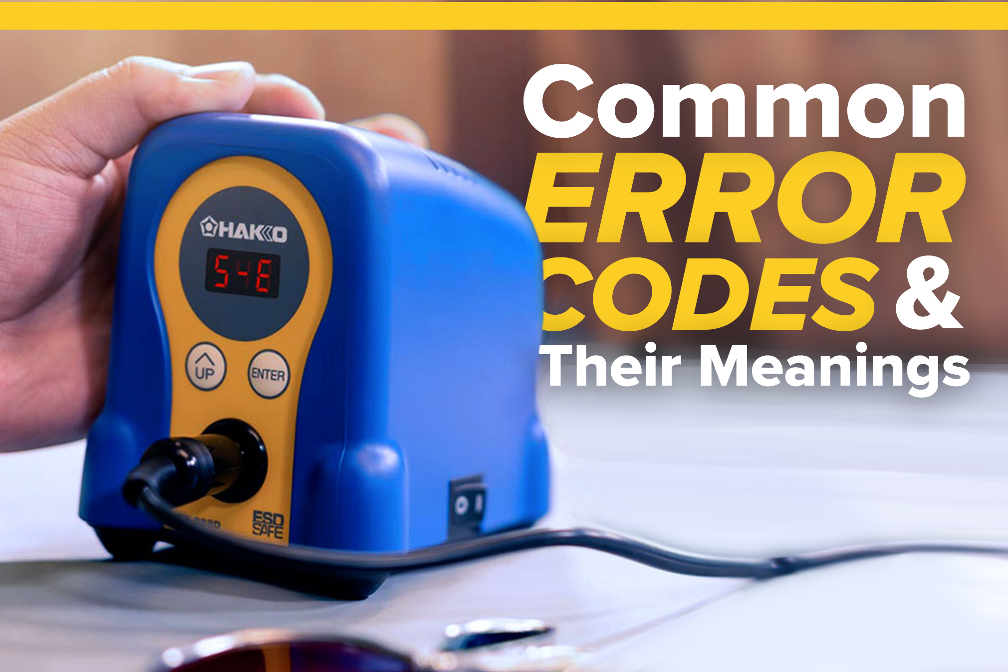 Common Error Codes and Their Meanings