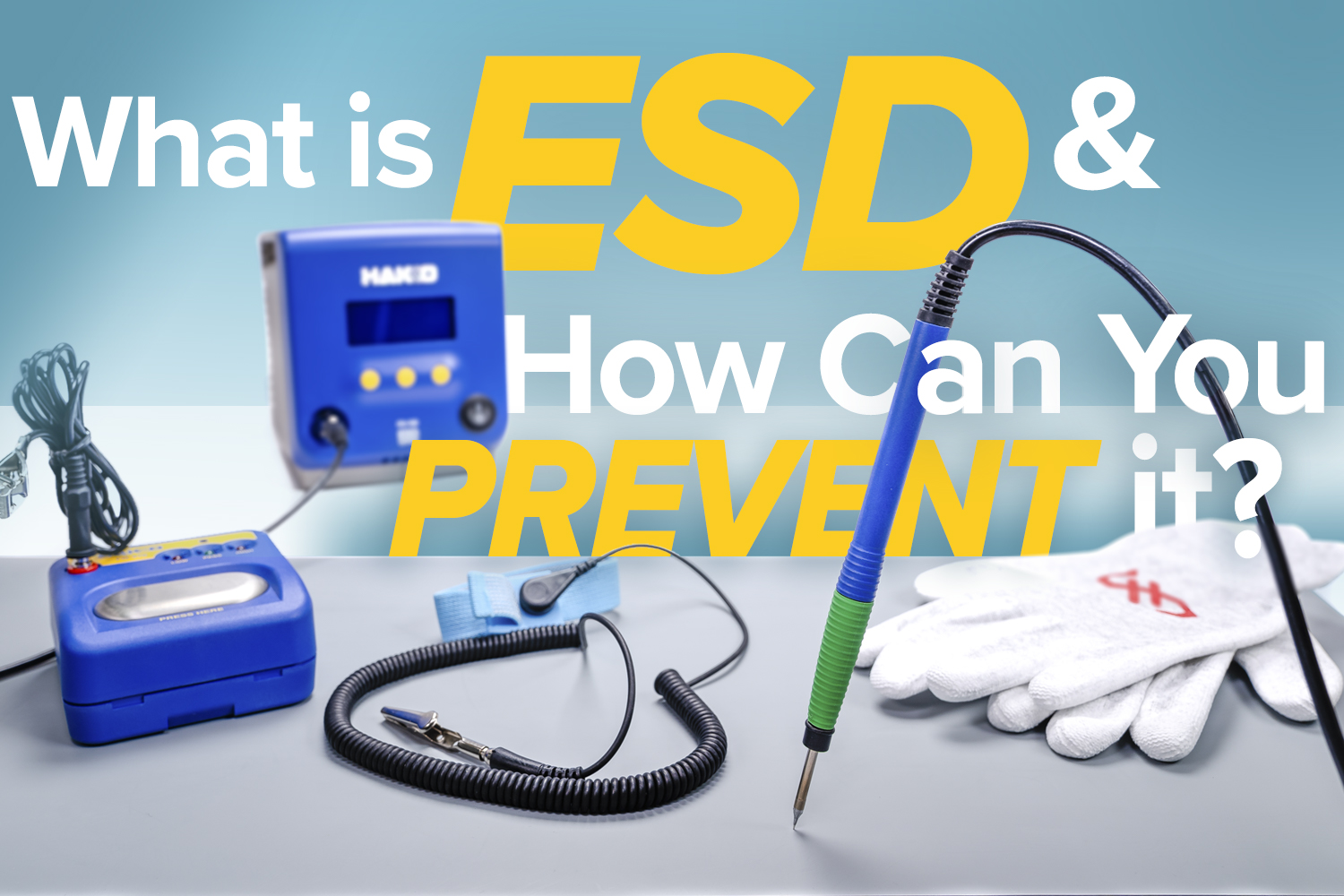 What is ESD, and How Can you Prevent it?