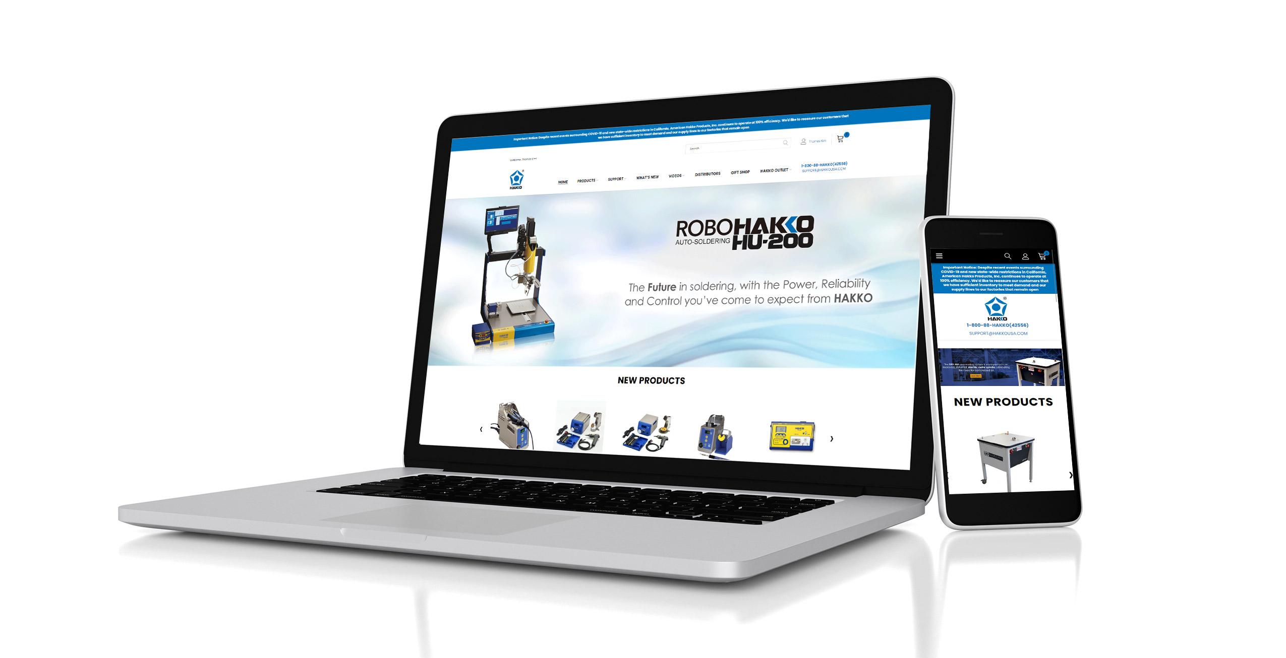 Brand New Hakko USA Website