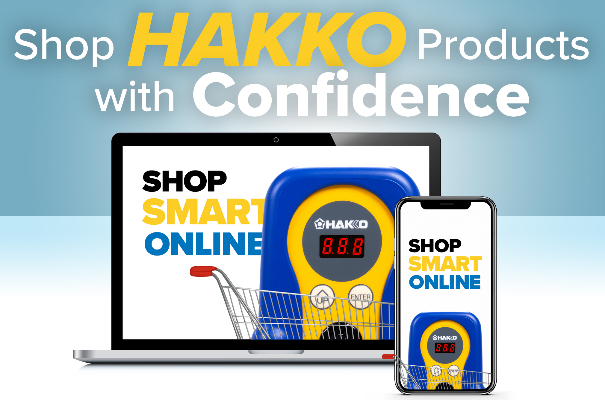 Shop Hakko Products with Confidence