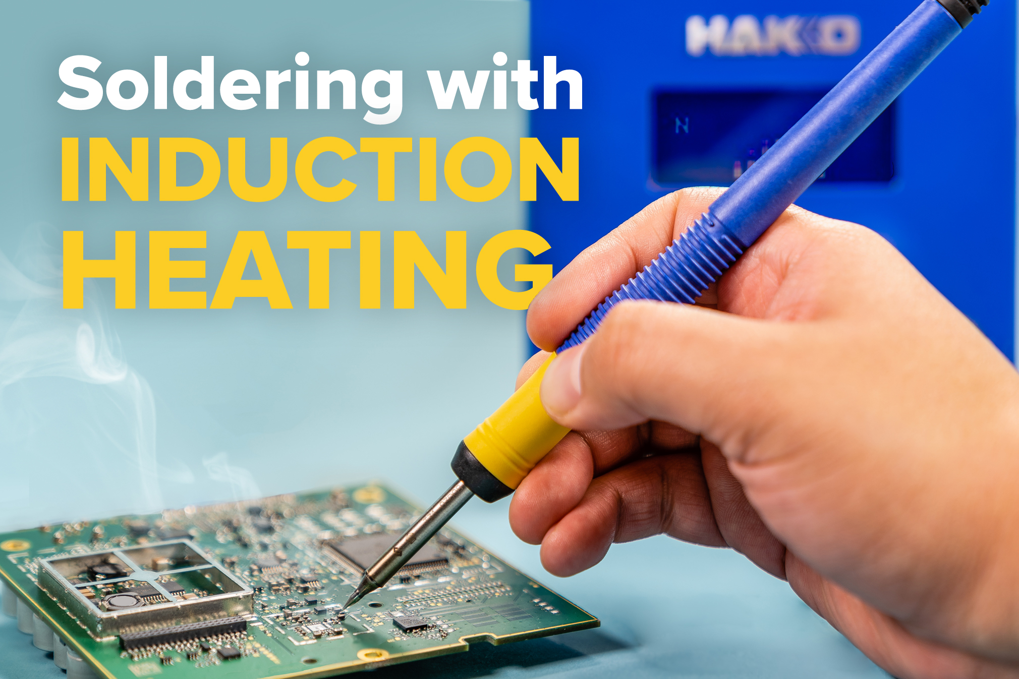 Soldering with Induction Heating