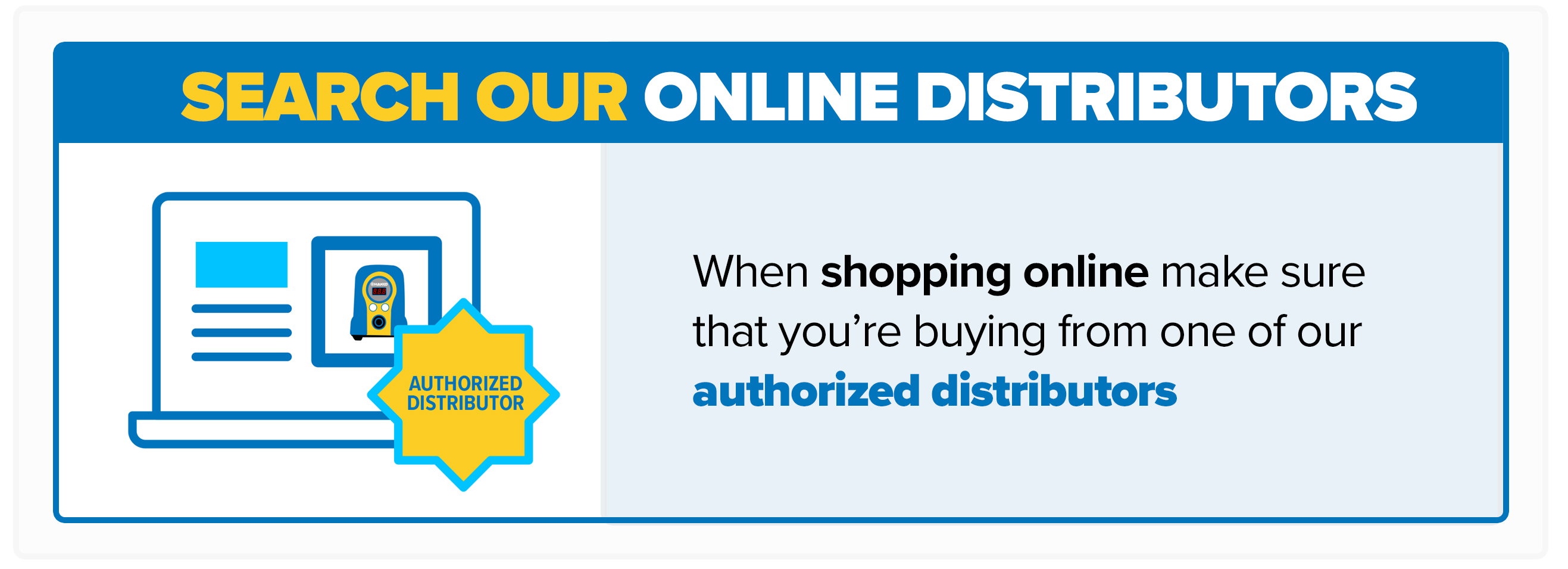 Search Our Online Distributors