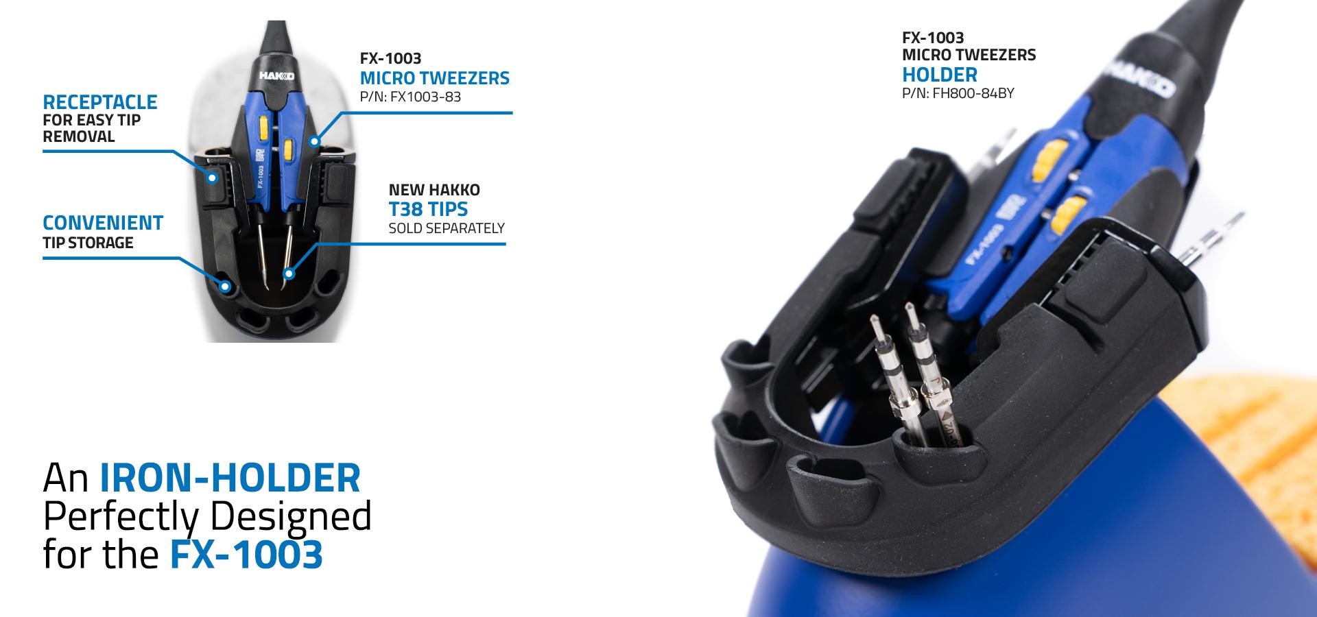 HAKKO FX-1003 Micro Tweezer Holder