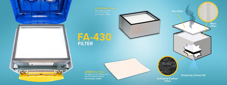 Hakko FA-430 Fume Extraction Filter