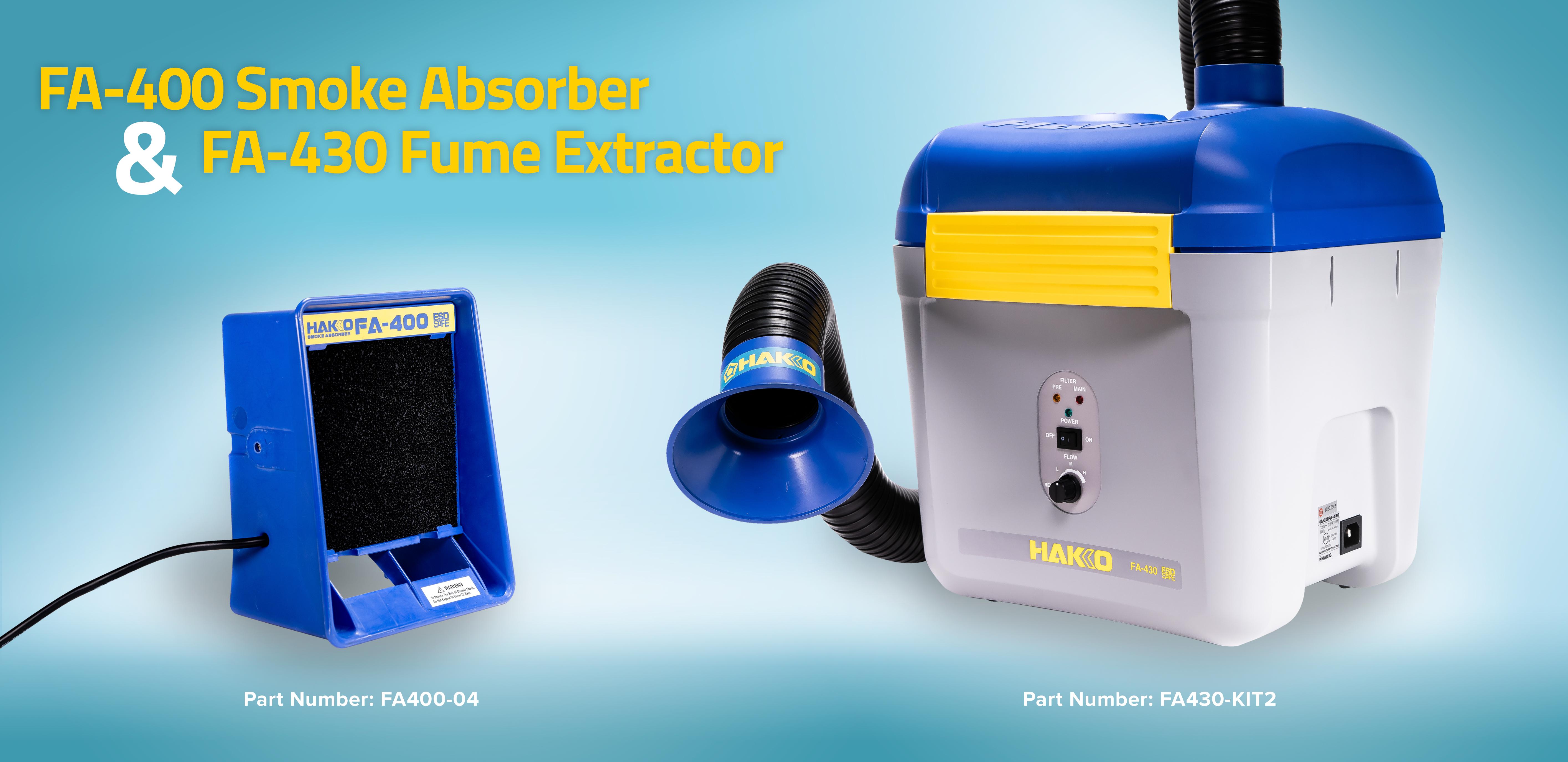 Hakko Smoke Absorber and Fume Extractor
