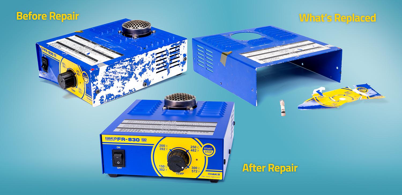 Hakko Repair Service_Before & After