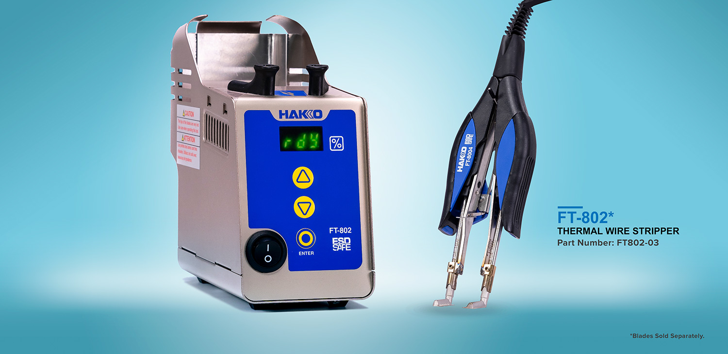 Hakko Tips: The Need for Thermal Wire Strippers