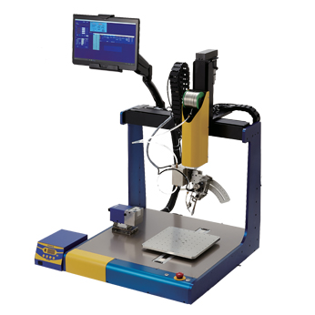 NEW —HU-200 Robotic Soldering System