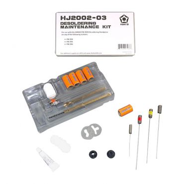 HJ2002-03 Desoldering Maintenance Kit for the HAKKO FM-2024