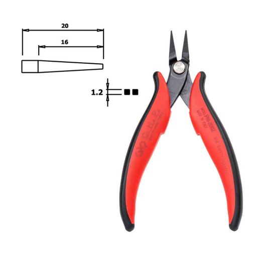 CHP PN-2002 Pointed Nose Pliers