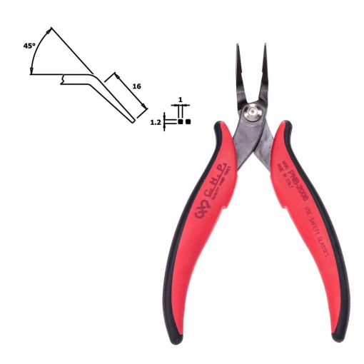 CHP PNB-2006 Long Nose Angled Pliers