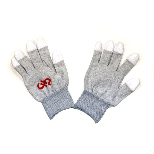 Large, Finger Tip Coated, ESD Safe Gloves