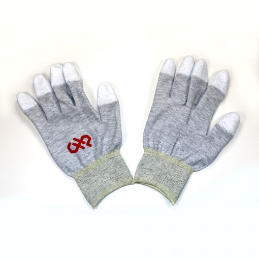 X-Large, Finger Tip Coated, ESD Safe Gloves
