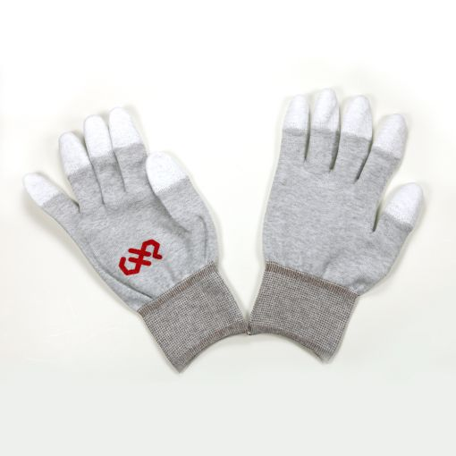 2X-Large, Finger Tip Coated, ESD Safe Gloves