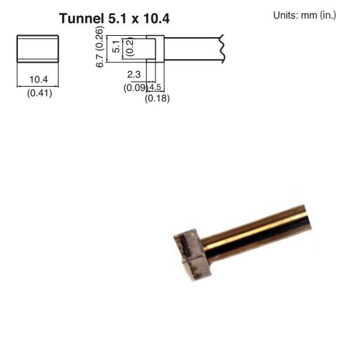 T15-1002 Tunnel Tip