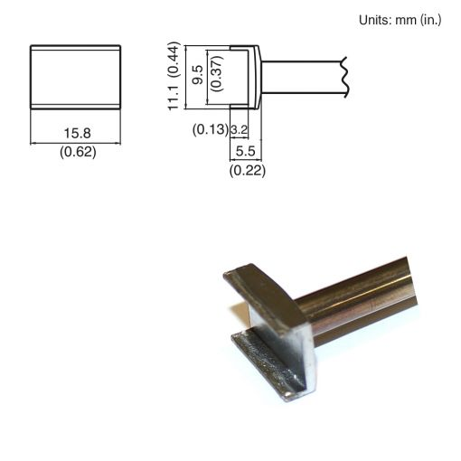 T15-1004 Tunnel Tip