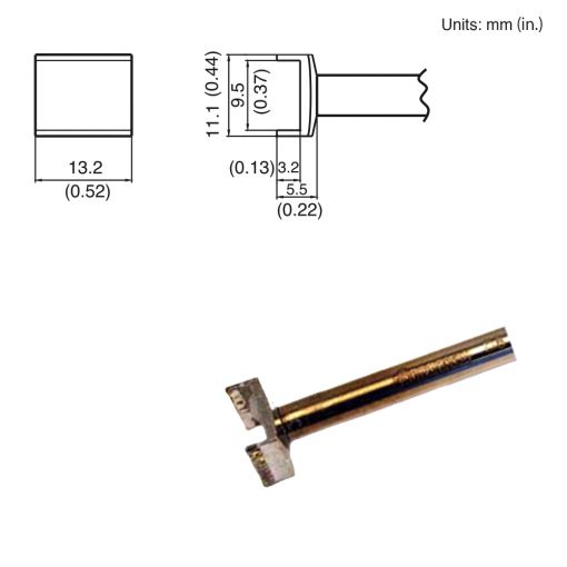 T15-1005 Tunnel Tip