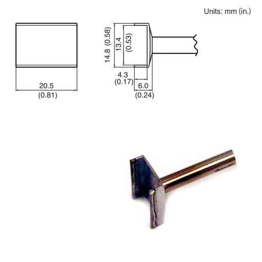T15-1009 Tunnel Tip