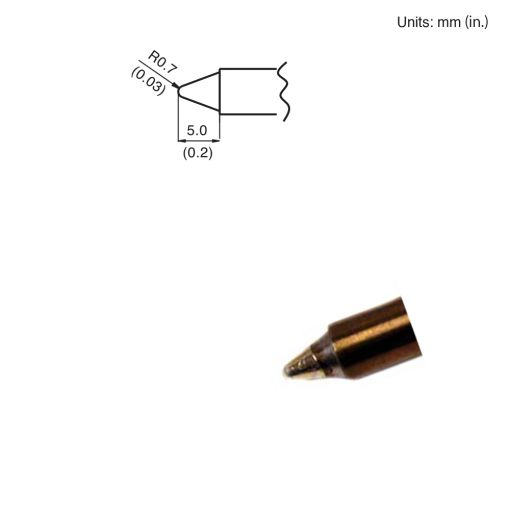 T15-B3 Conical Tip
