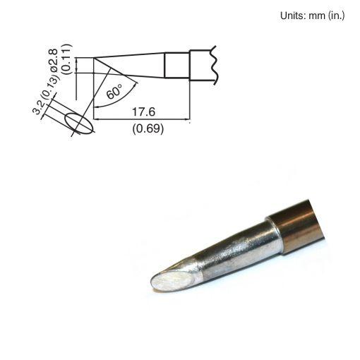 T15-BC28 Bevel Tip