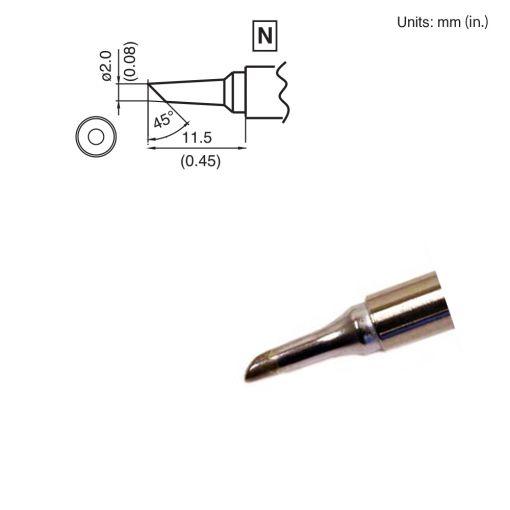 T15-BC2 Bevel Tip