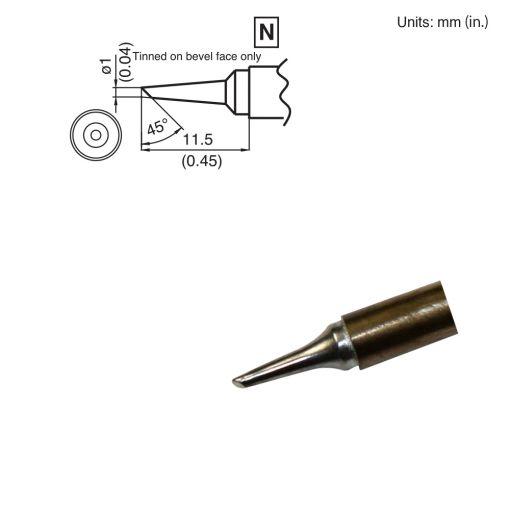 T15-BCF1 Bevel Tip
