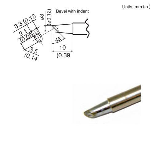 T15-BCM3 Bevel Tip
