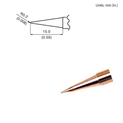 T15-BLL Conical Tip