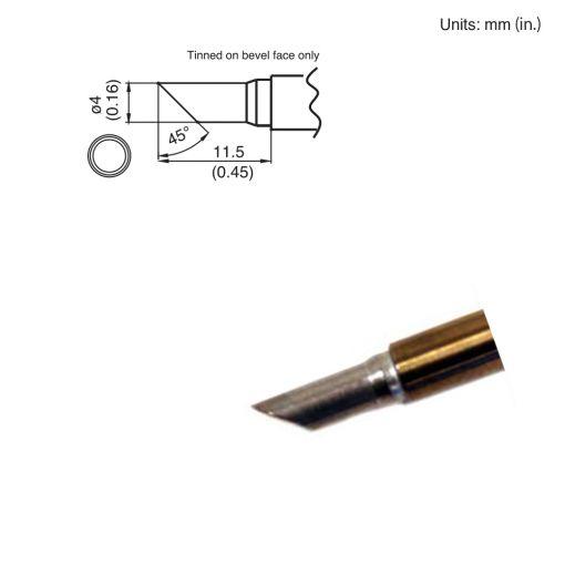 T15-CF4 Bevel Tip