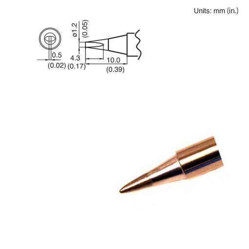 T15-D12 Chisel Tip
