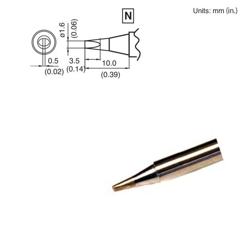 T15-D16 Chisel Tip