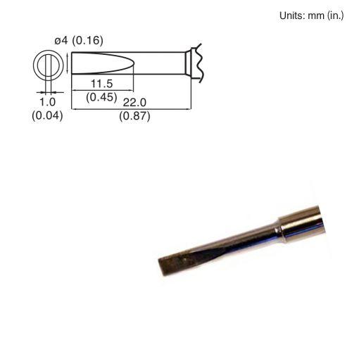 T15-DL4 Chisel Tip