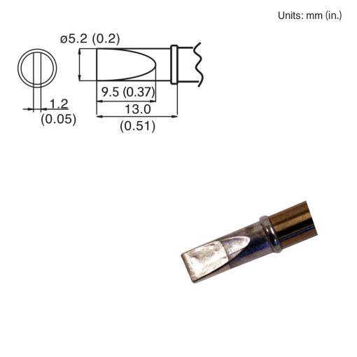 T15-DL52 Chisel Tip