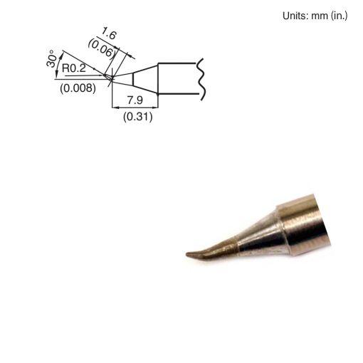 T15-JS02 Bent Tip