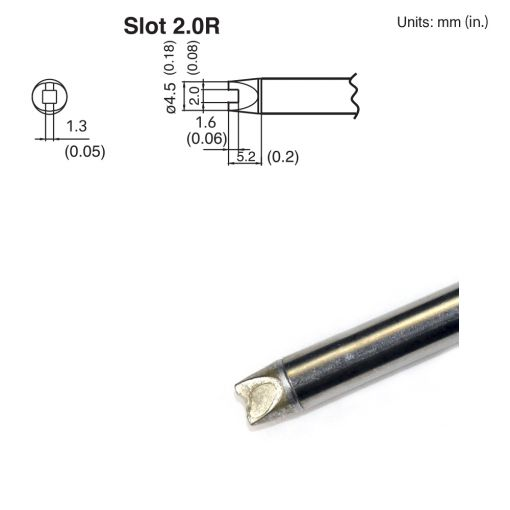 T15-R20 Slot Tip