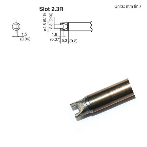 T15-R23 Slot Tip