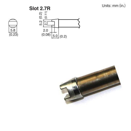 T15-R27 Slot Tip