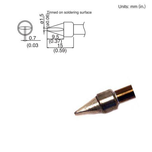 T15-XD15 Chisel Tip