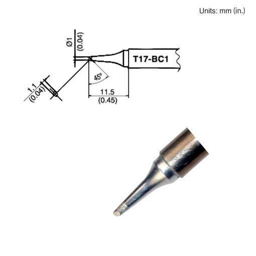 T17-BC1 Bevel Tip