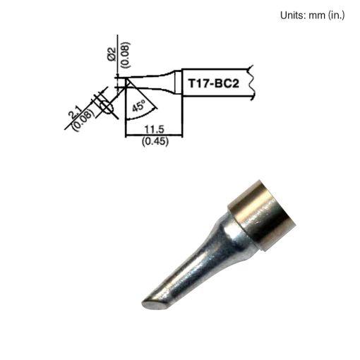 T17-BC2 Bevel Tip