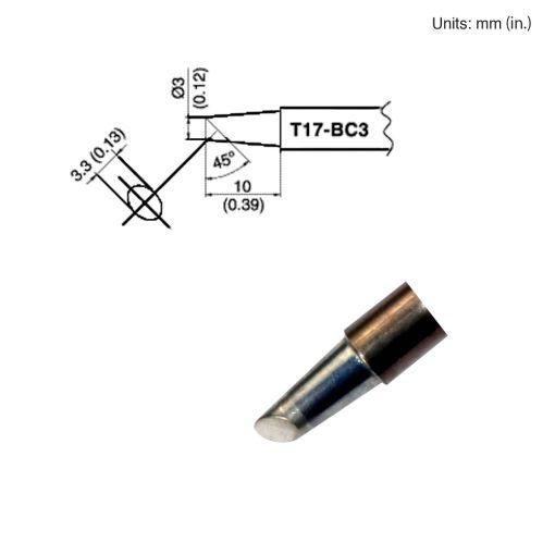 T17-BC3 Bevel Tip