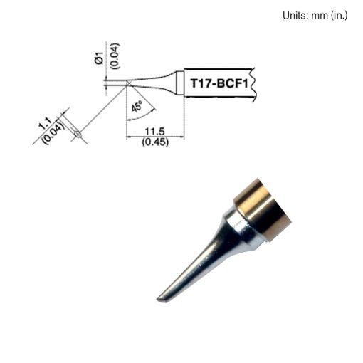 T17-BCF1 Bevel Tip