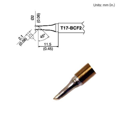 T17-BCF2 Bevel Tip