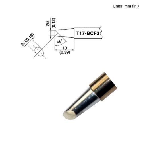 T17-BCF3 Bevel Tip