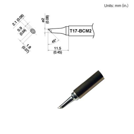 T17-BCM2 Bevel Tip
