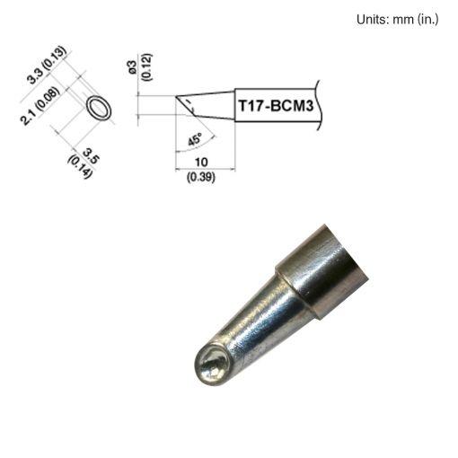 T17-BCM3 Bevel Tip