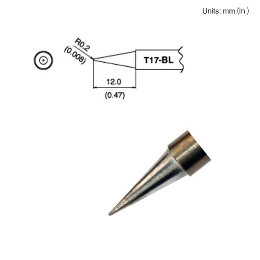 T17-BL Long Conical Tip