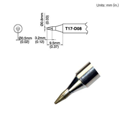 T17-D08 Chisel Tip