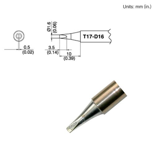 T17-D16 Chisel Tip