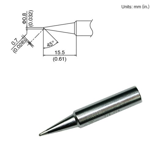 T18-C08 Bevel Tip